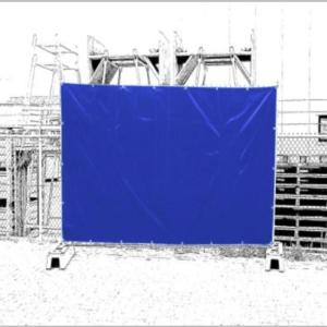 bâche clôture