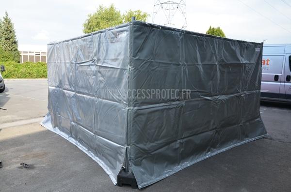 b che acoustique anti bruit pour chantiers jusqu 39 70 d 39 missions sonores. Black Bedroom Furniture Sets. Home Design Ideas