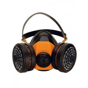 Demi masque respiratoire en caoutchouc
