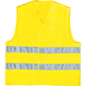 Gilet de visualisation jaune
