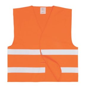 Gilet de visualisation orange
