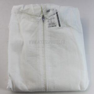 Combinaison de protection des vêtements jetables XL ou XXL