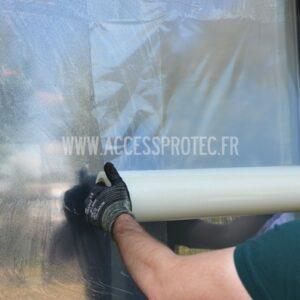 Film fenêtre de protection anti-rayures et anti salissures