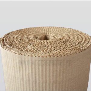rouleau de carton ondulé de protection pour les surfaces