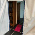 Cloison anti-poussière installée par AccessProtec